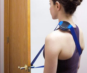 A massage tool  for your upper back and shoulders